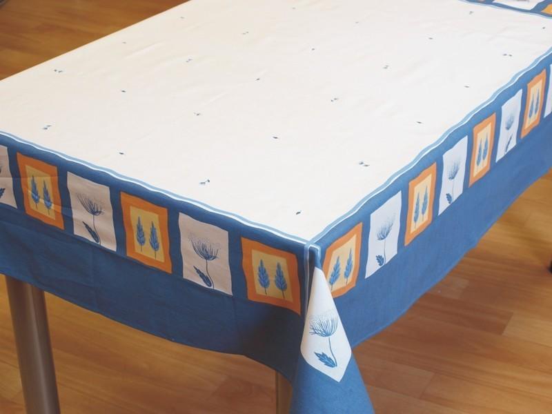 Forbyt  Ubrus bavlněný, Louka modrá pr. 150