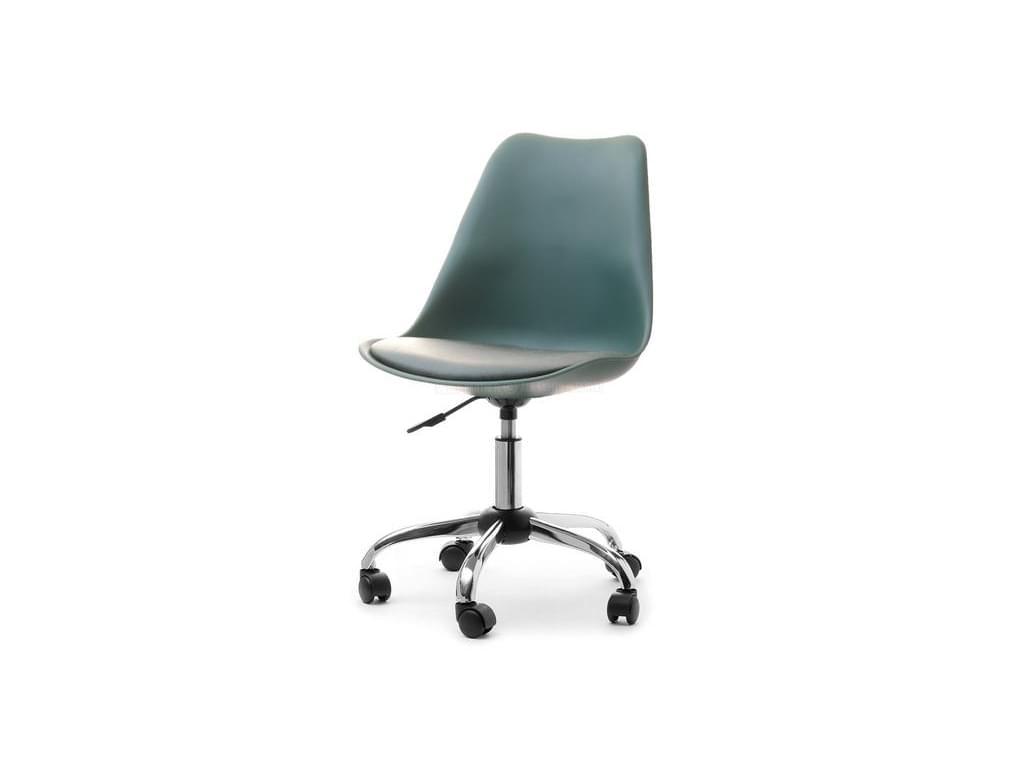 design4life Kancelářská židle SILAS otočná, zelená