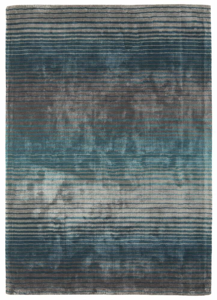 Masiv24 - HOLBORN pásikovaná koberec 160x230cm - tyrkysová