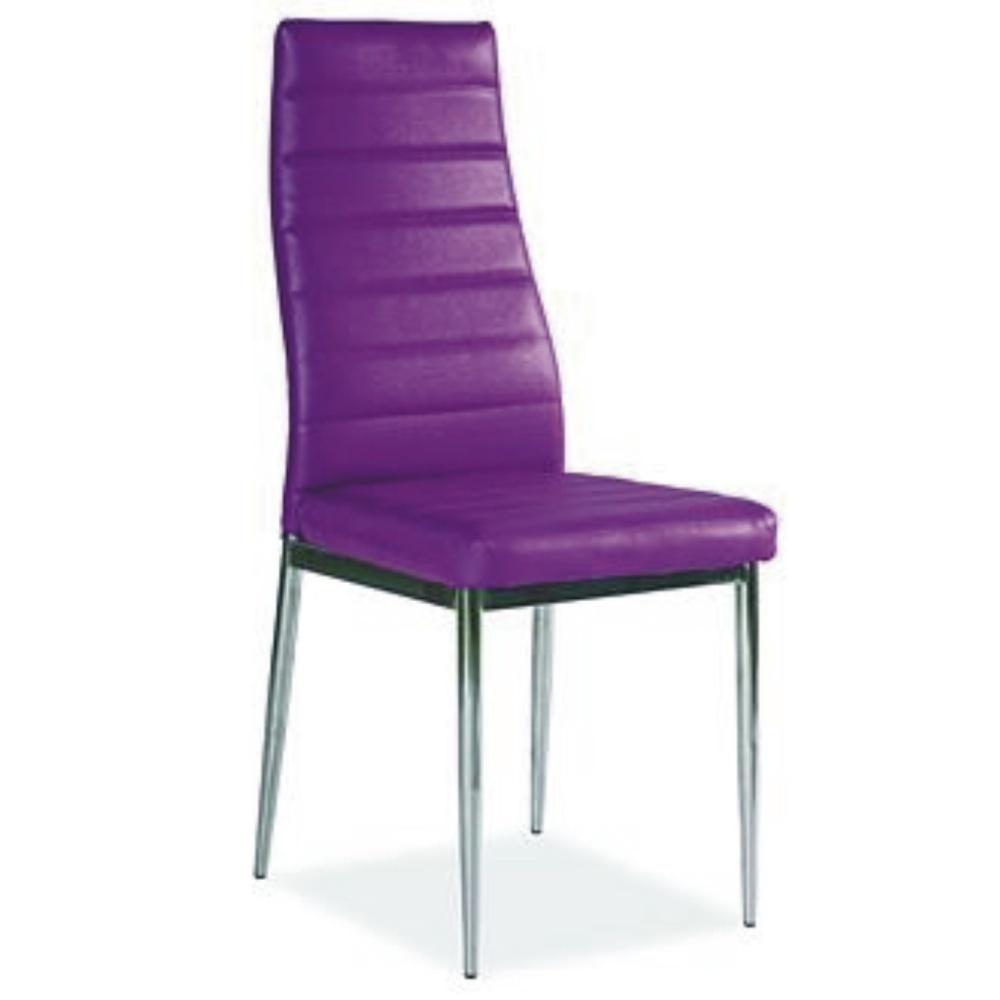 Jídelní židle F062 fialová