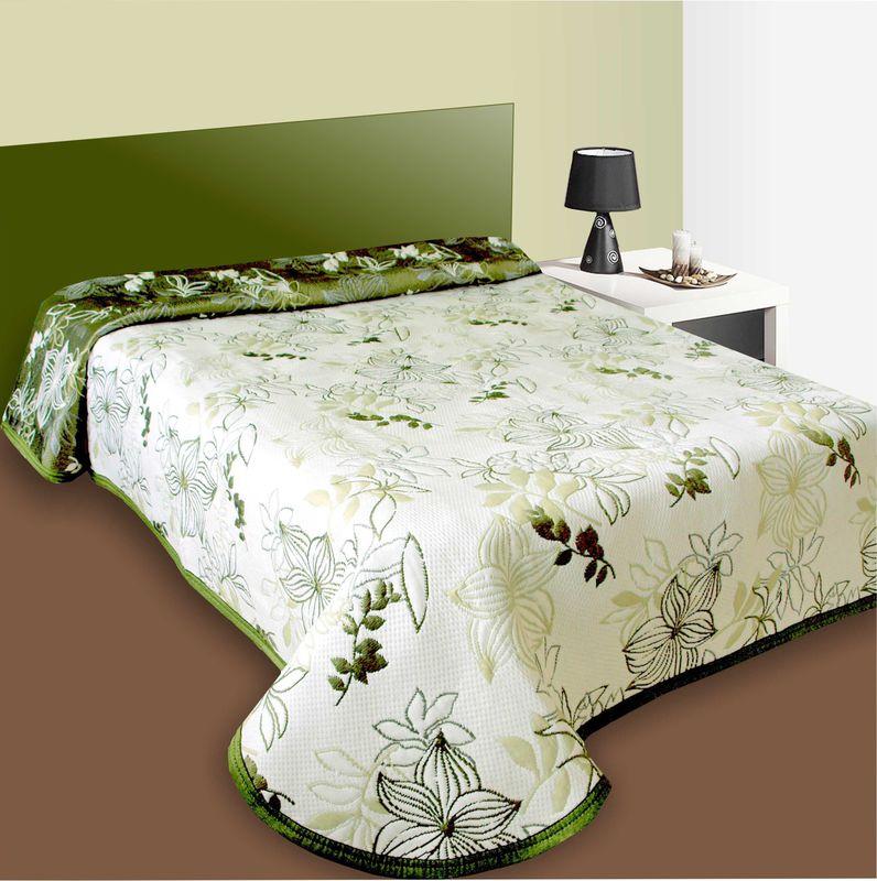 Forbyt Přehoz na postel Lisabon zelený 240 x 260 cm