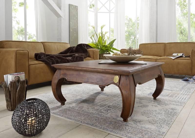 Masiv24 - ORIENT konferenční stolek akát, nugátová 120cm