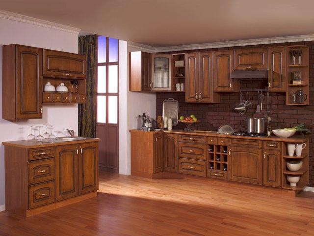 Kuchyňská linka ANNA patina 240 cm s možností výběru barvy