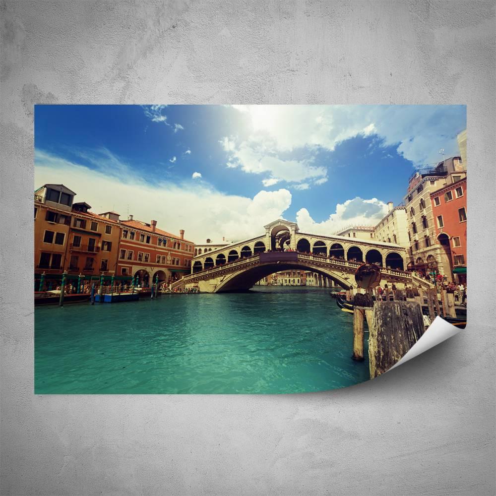 Plakát - Ponte Rialto (60x40 cm)