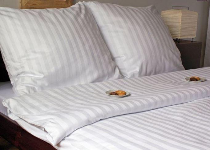 Forbyt , Povlečení set Grade Hotel, bílý 140 x 200 cm