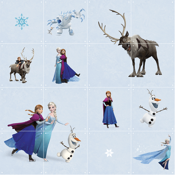 Skládaný obraz IXXI - Frozen