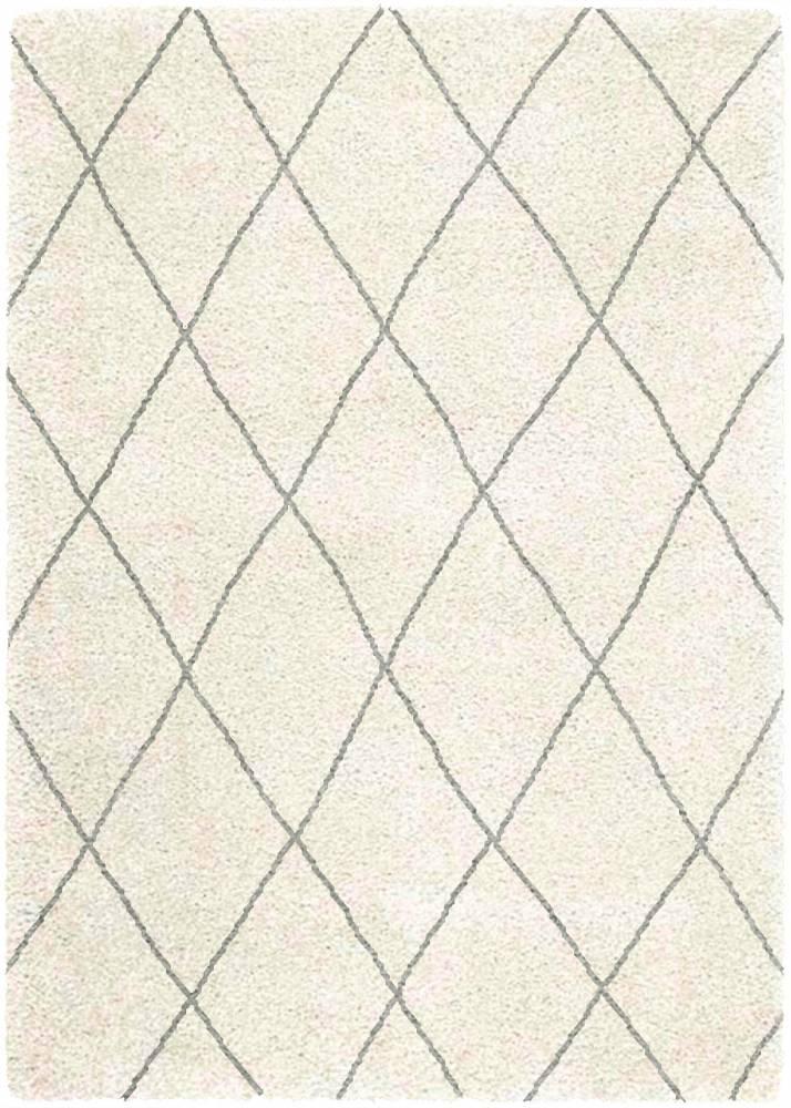 Masiv24 - Koberec LOGAN 120x170cm LG07 Diamond - slonová kosť/sivá