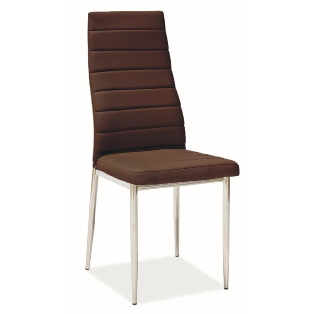 Jídelní židle F062 hnědá