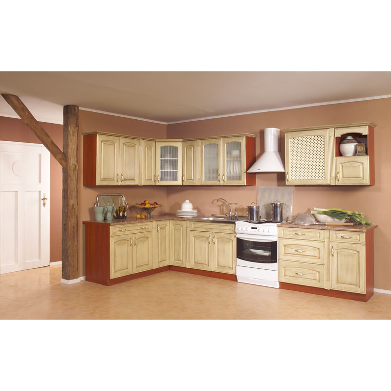 Kuchyňská linka AMELIA patina 260 cm s možností výběru barvy