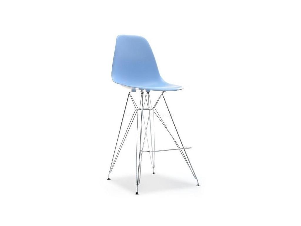 design4life Barová židle MOBI modrá