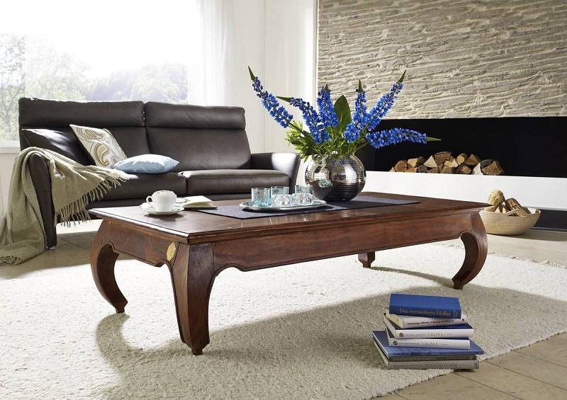 Masiv24 - ORIENT konferenční stolek akát, nugátová 160cm