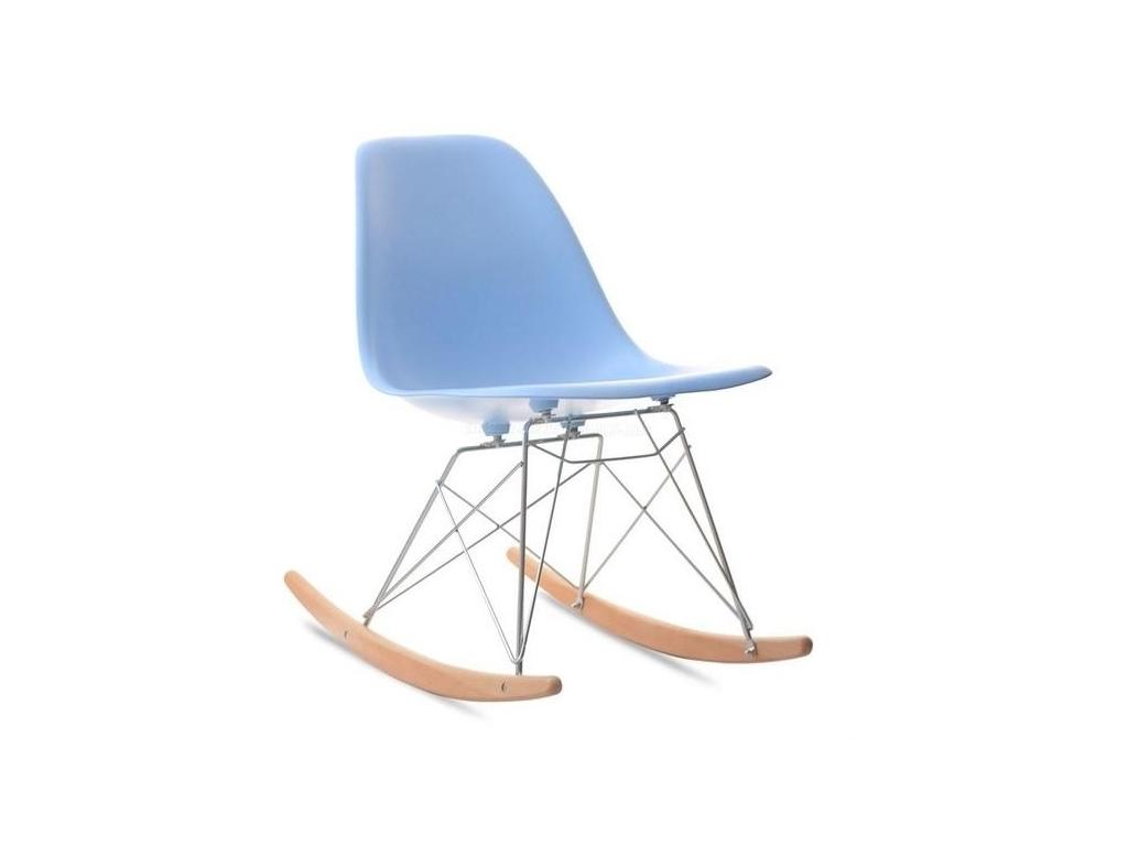 design4life Houpací křeslo MOBI modré